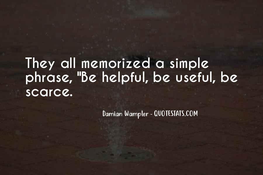 Damian Wampler Quotes #1583075
