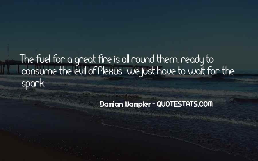 Damian Wampler Quotes #27887