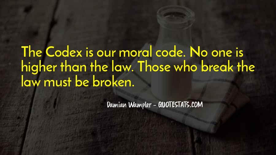 Damian Wampler Quotes #314634