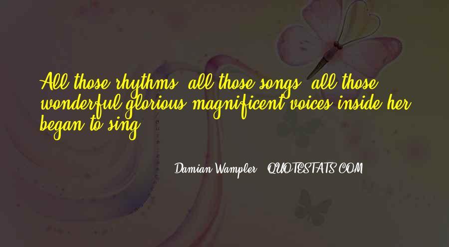 Damian Wampler Quotes #854478
