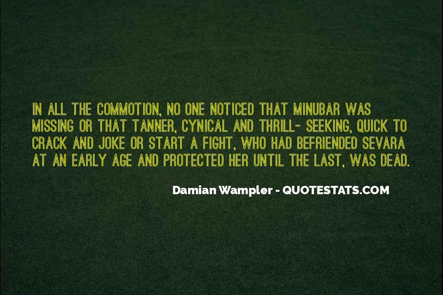 Damian Wampler Quotes #88280