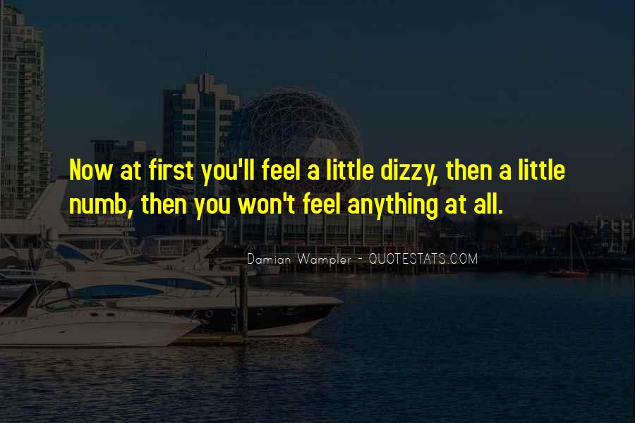 Damian Wampler Quotes #917572