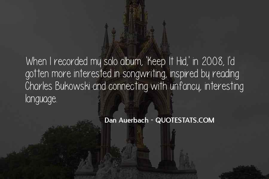 Dan Auerbach Quotes #1338462