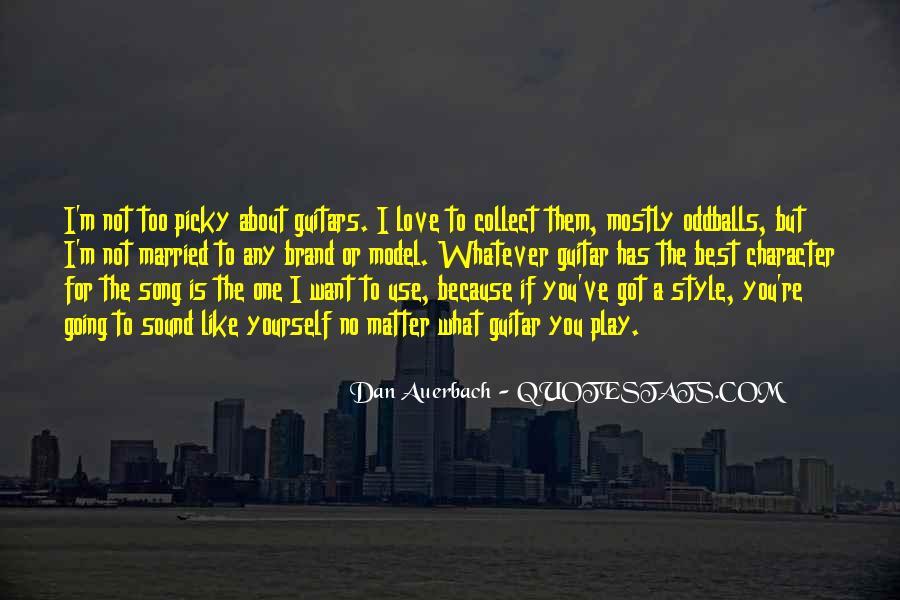 Dan Auerbach Quotes #450115