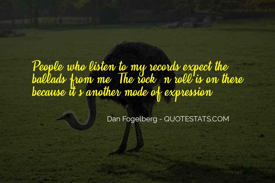 Dan Fogelberg Quotes #1004564