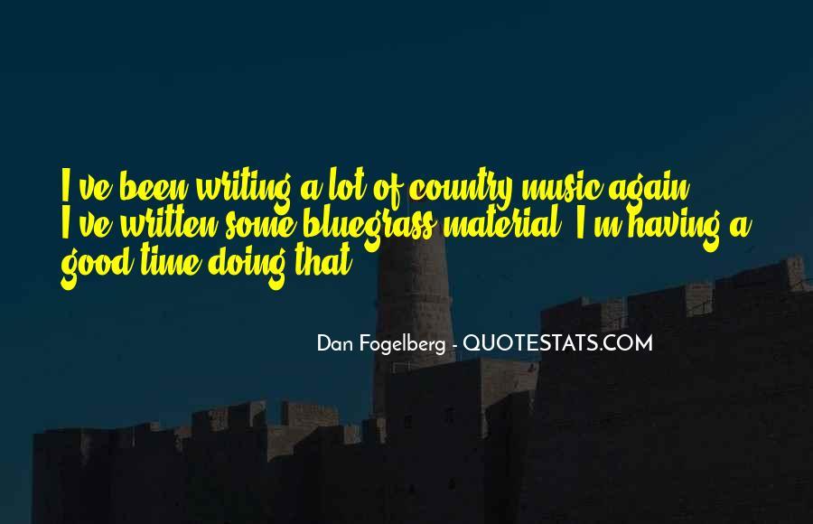 Dan Fogelberg Quotes #11228