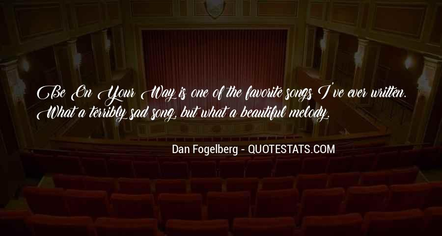 Dan Fogelberg Quotes #1255387