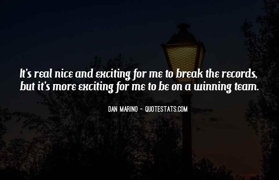 Dan Marino Quotes #1650094