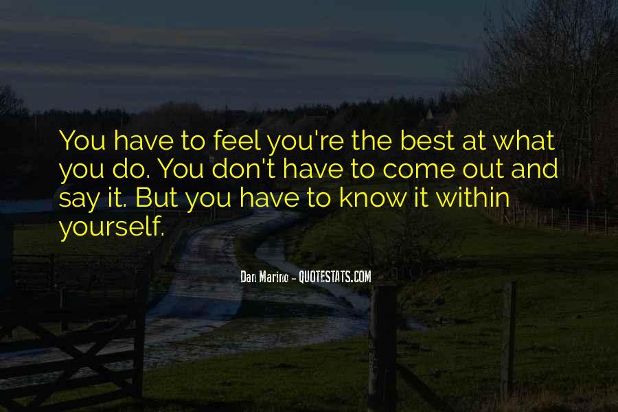 Dan Marino Quotes #1673273