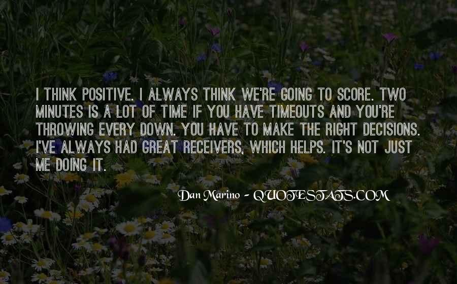 Dan Marino Quotes #1805786