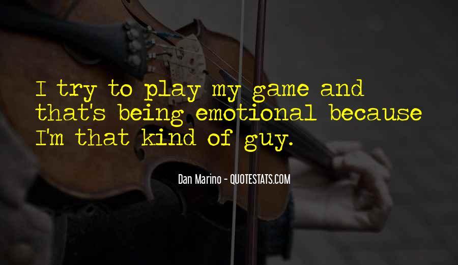 Dan Marino Quotes #266427