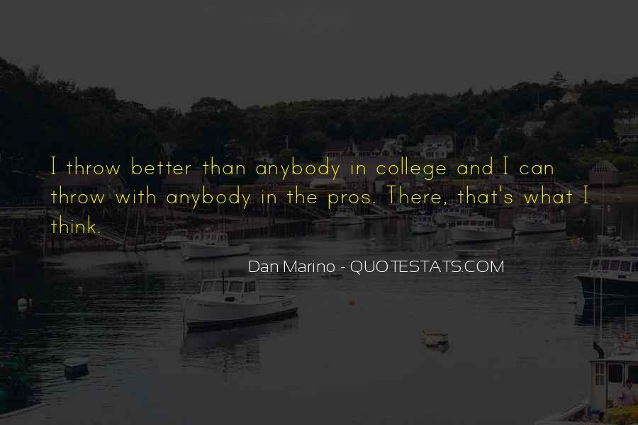 Dan Marino Quotes #878789