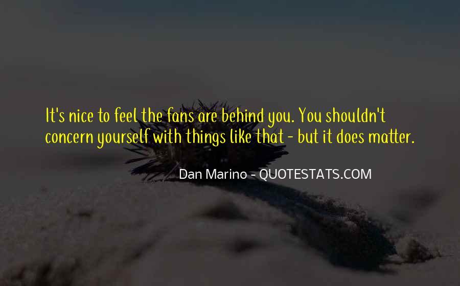 Dan Marino Quotes #899331