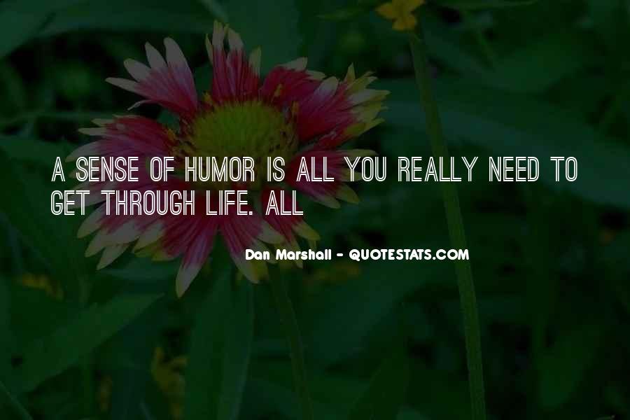 Dan Marshall Quotes #306743