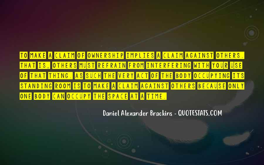 Daniel Alexander Brackins Quotes #1138443