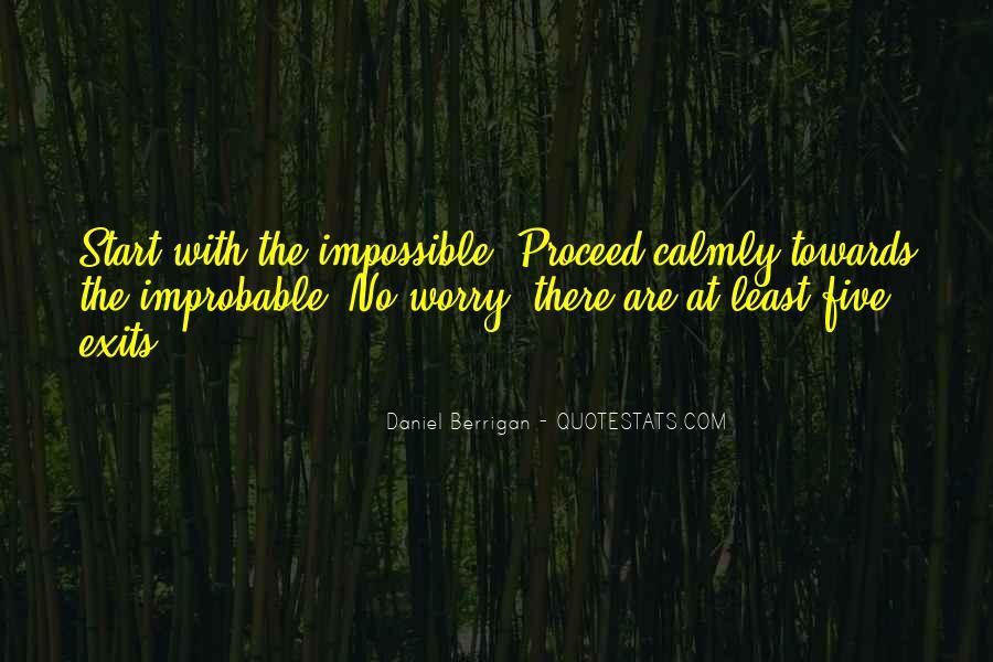 Daniel Berrigan Quotes #1074048
