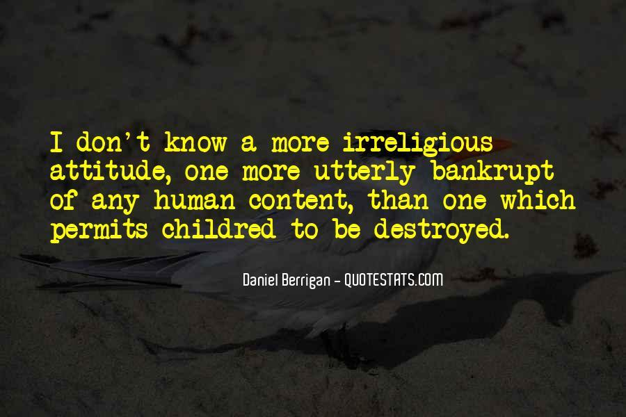 Daniel Berrigan Quotes #1085214