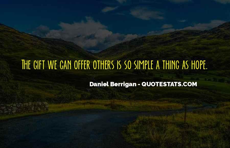 Daniel Berrigan Quotes #476512