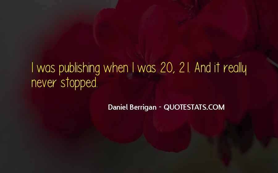 Daniel Berrigan Quotes #774110
