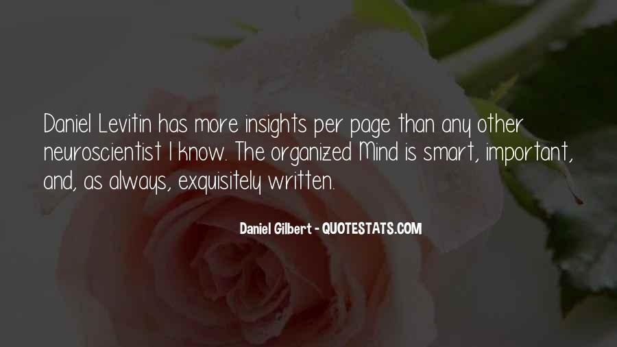 Daniel Gilbert Quotes #689373