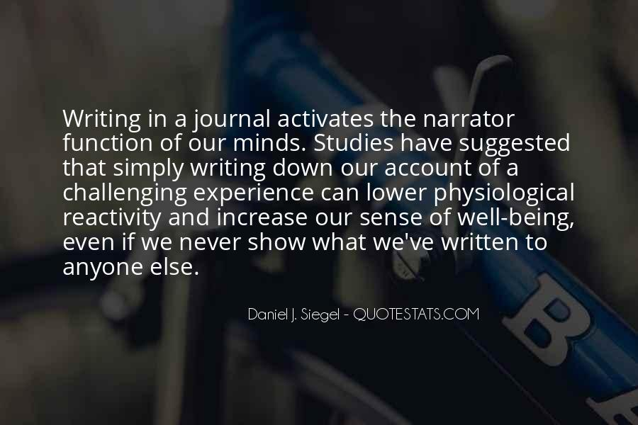 Daniel J. Siegel Quotes #486079