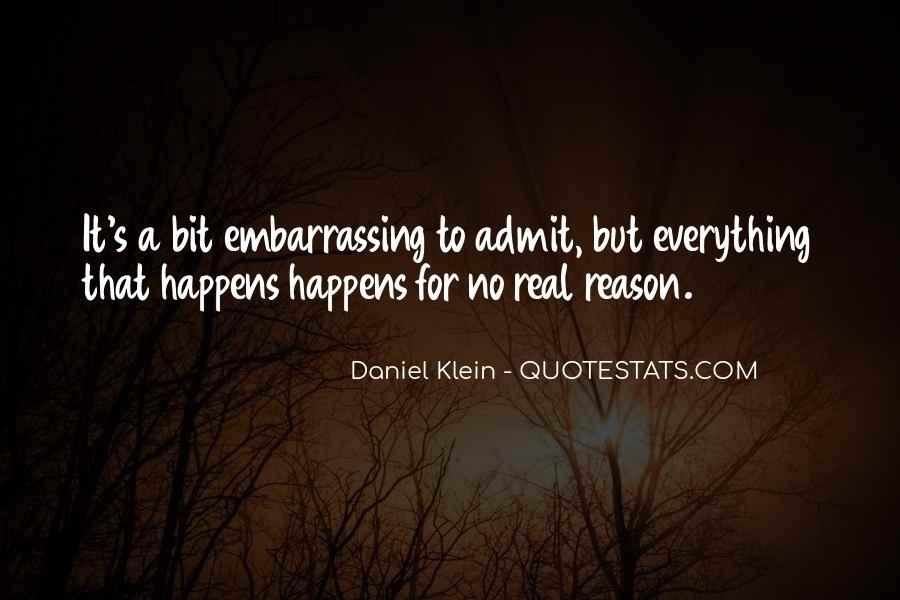 Daniel Klein Quotes #1047898