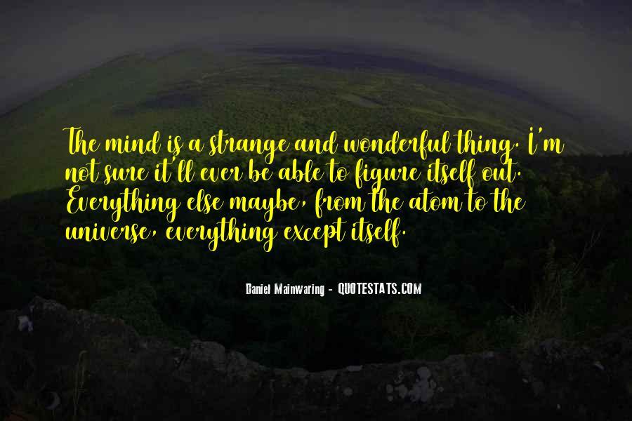 Daniel Mainwaring Quotes #1313129