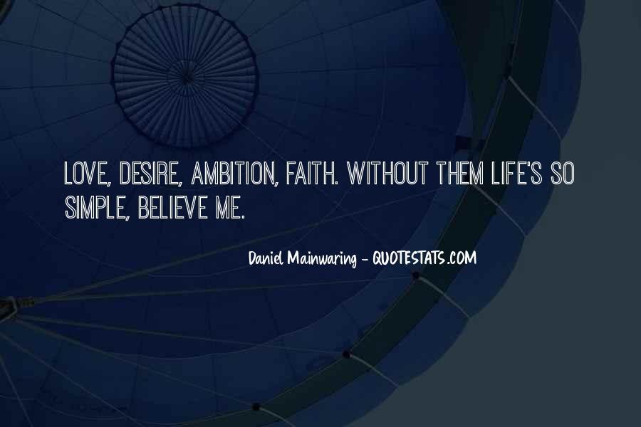 Daniel Mainwaring Quotes #1818740