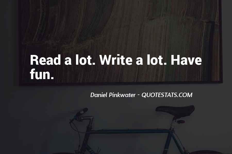 Daniel Pinkwater Quotes #1172377