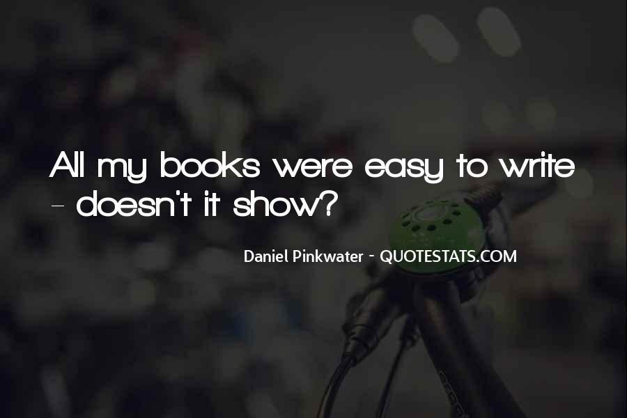 Daniel Pinkwater Quotes #1871907
