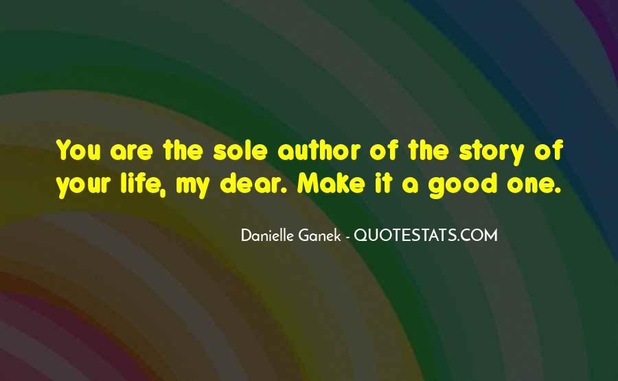 Danielle Ganek Quotes #628163