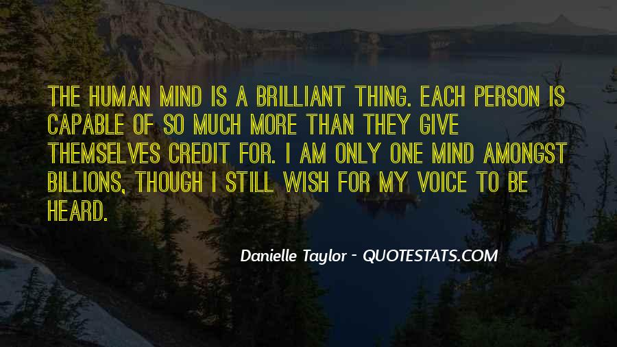 Danielle Taylor Quotes #647881