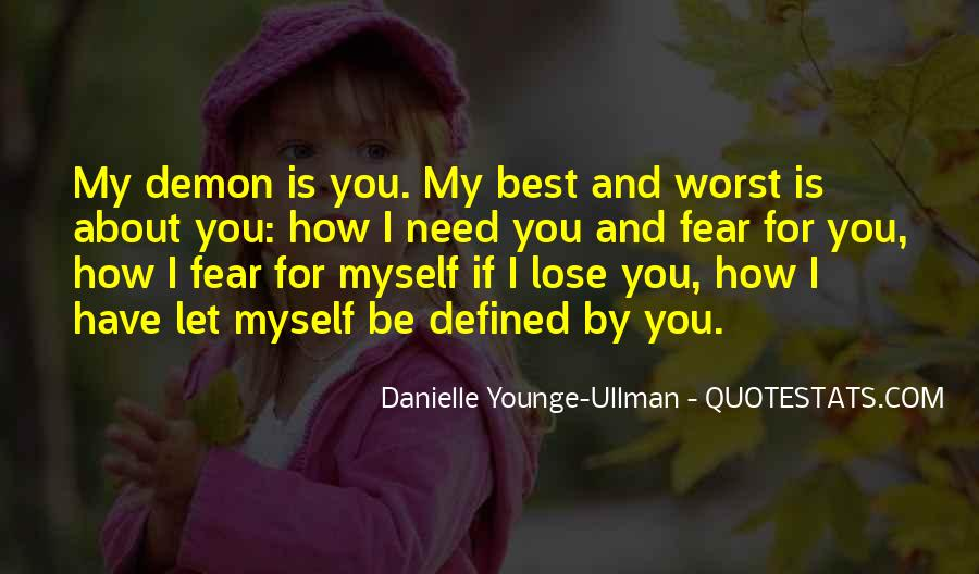 Danielle Younge-Ullman Quotes #1620776