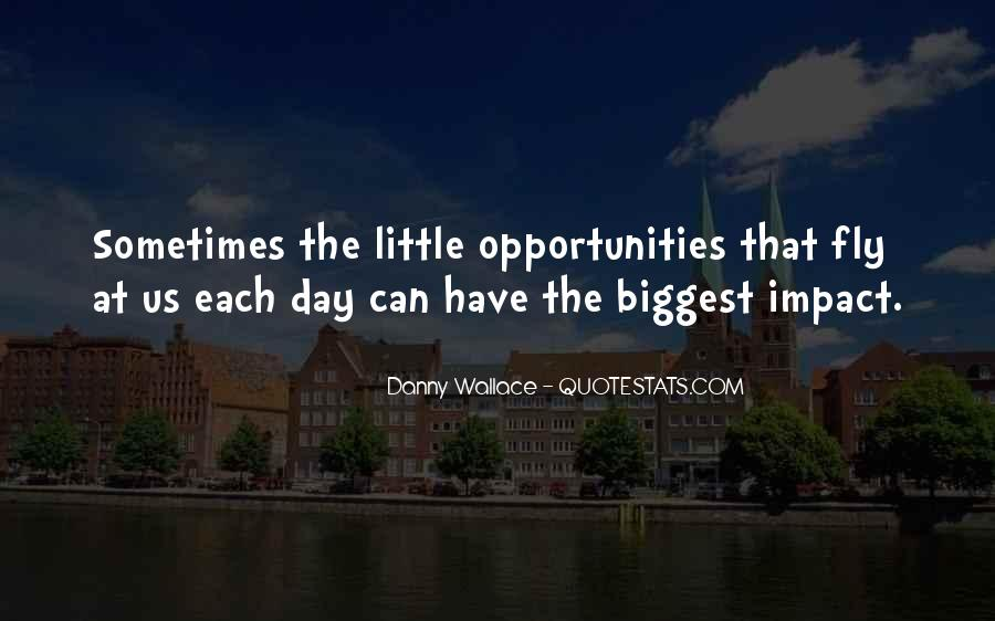 Danny Wallace Quotes #1246649