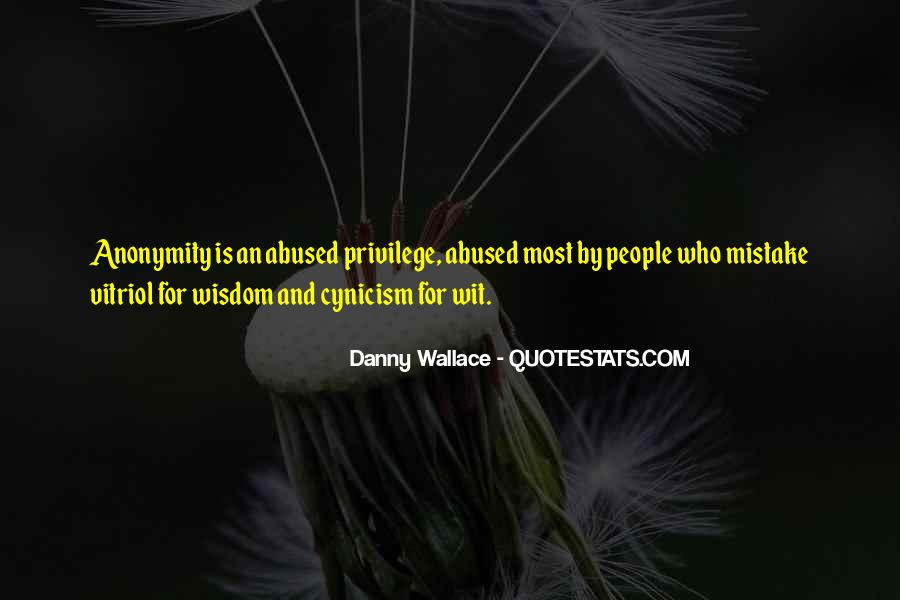 Danny Wallace Quotes #233444