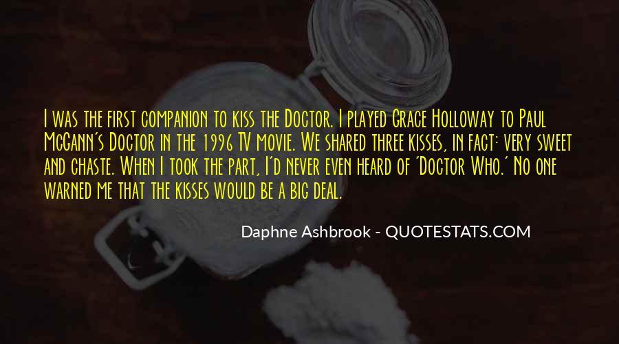 Daphne Ashbrook Quotes #1276348