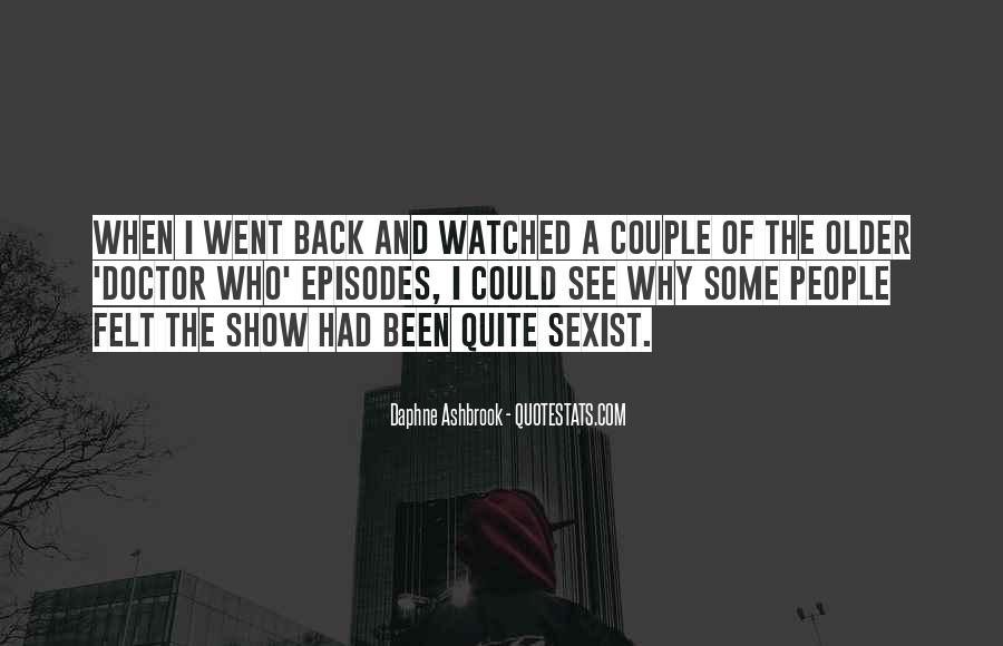 Daphne Ashbrook Quotes #641725