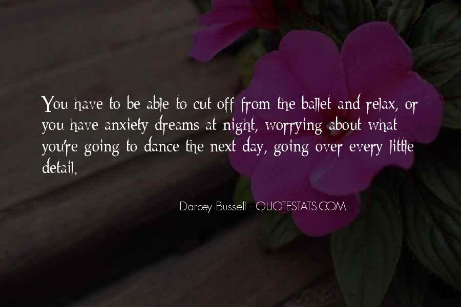 Darcey Bussell Quotes #958443