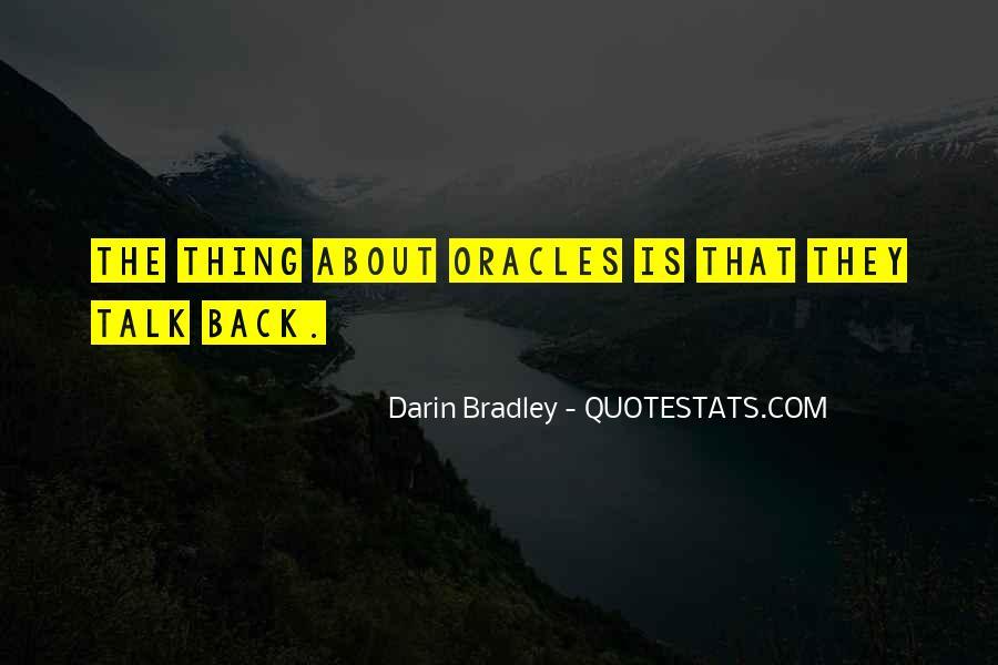 Darin Bradley Quotes #1244860