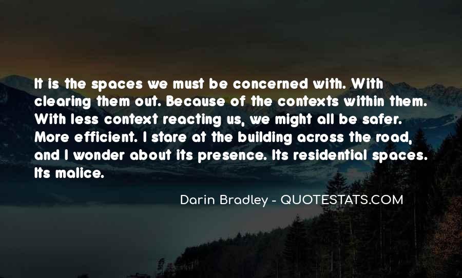 Darin Bradley Quotes #488007