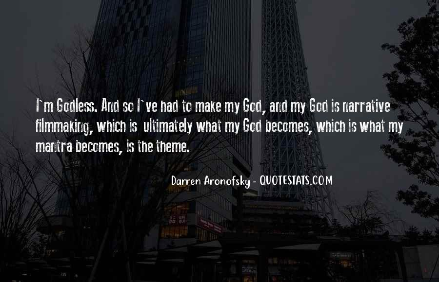 Darren Aronofsky Quotes #1011122