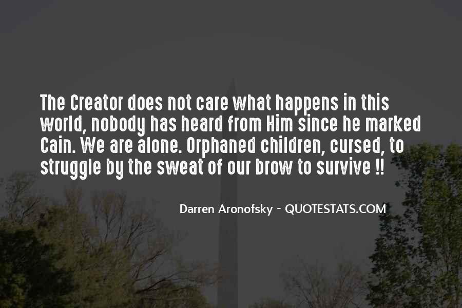 Darren Aronofsky Quotes #1060272