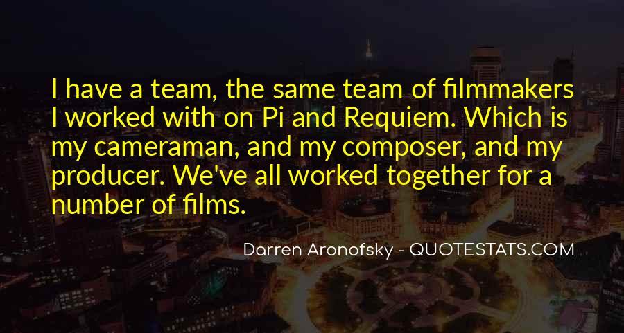 Darren Aronofsky Quotes #1104475