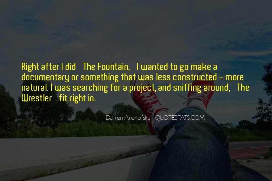 Darren Aronofsky Quotes #1172215