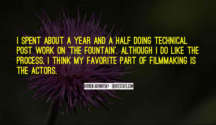 Darren Aronofsky Quotes #1270933