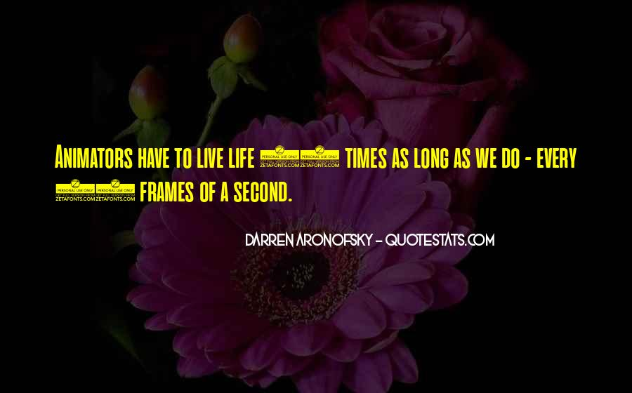Darren Aronofsky Quotes #1307125