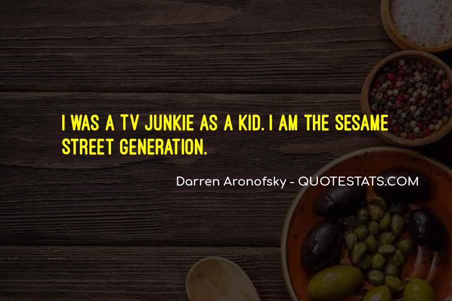 Darren Aronofsky Quotes #1354391