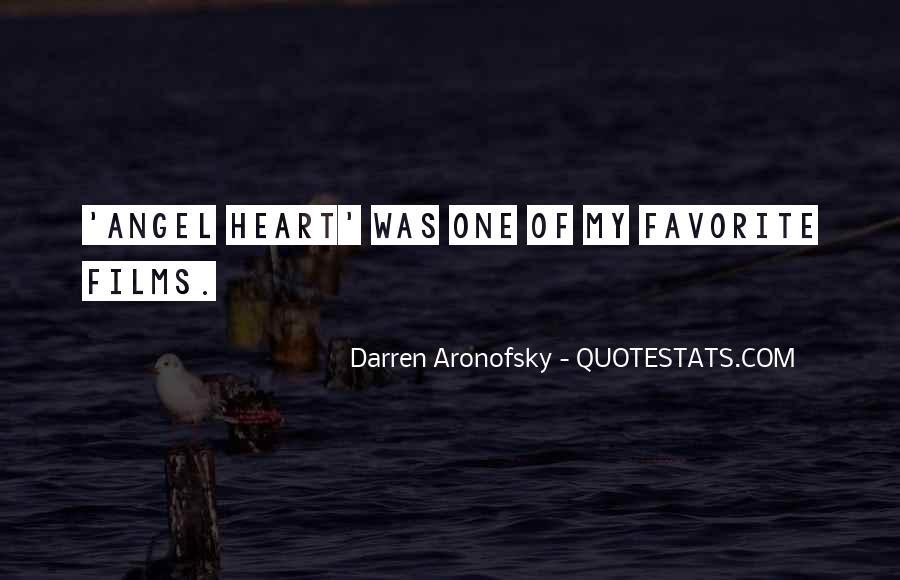 Darren Aronofsky Quotes #1400930