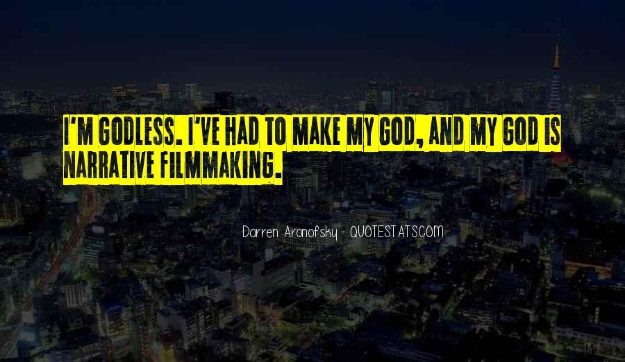 Darren Aronofsky Quotes #1418833