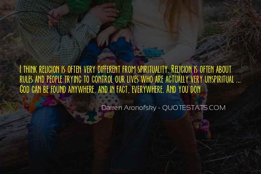 Darren Aronofsky Quotes #1504895